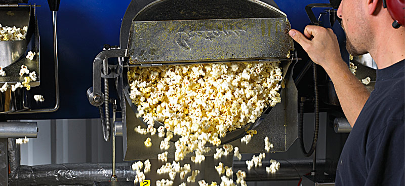 Popcorn-Fabriken